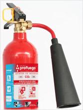extintores portatiles de co2