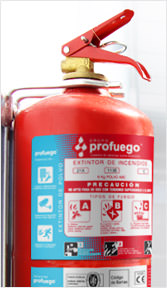 extintores portatiles de polvo