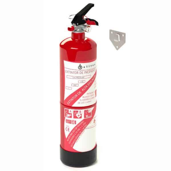 Extintor de incêndio de Pó 3kg Eficiência 13A 89B 1