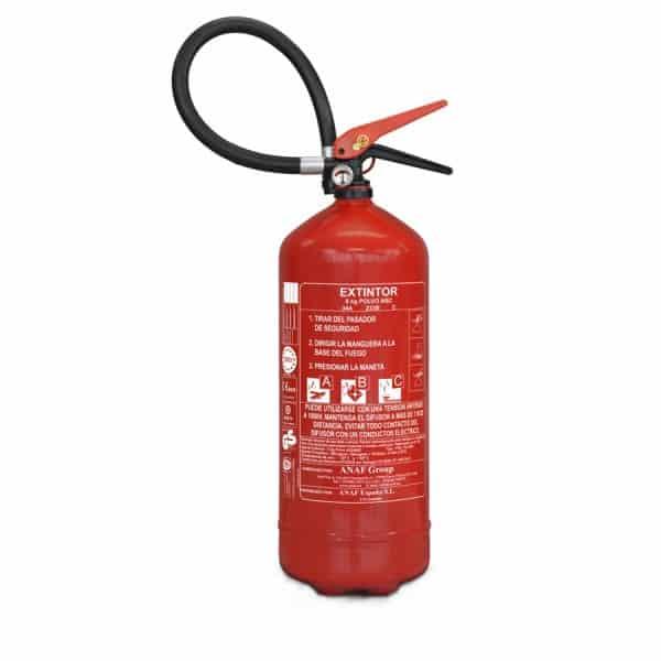 Extintor de Pó ABC 6kg 34A Alta Eficiência 1