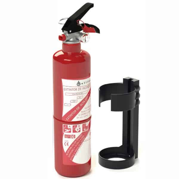 Extintor de incêndio 1kg ABC para carro 1