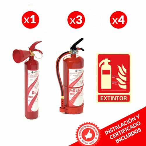 Pacote de Extintor de Incêndios para Condomínios 1