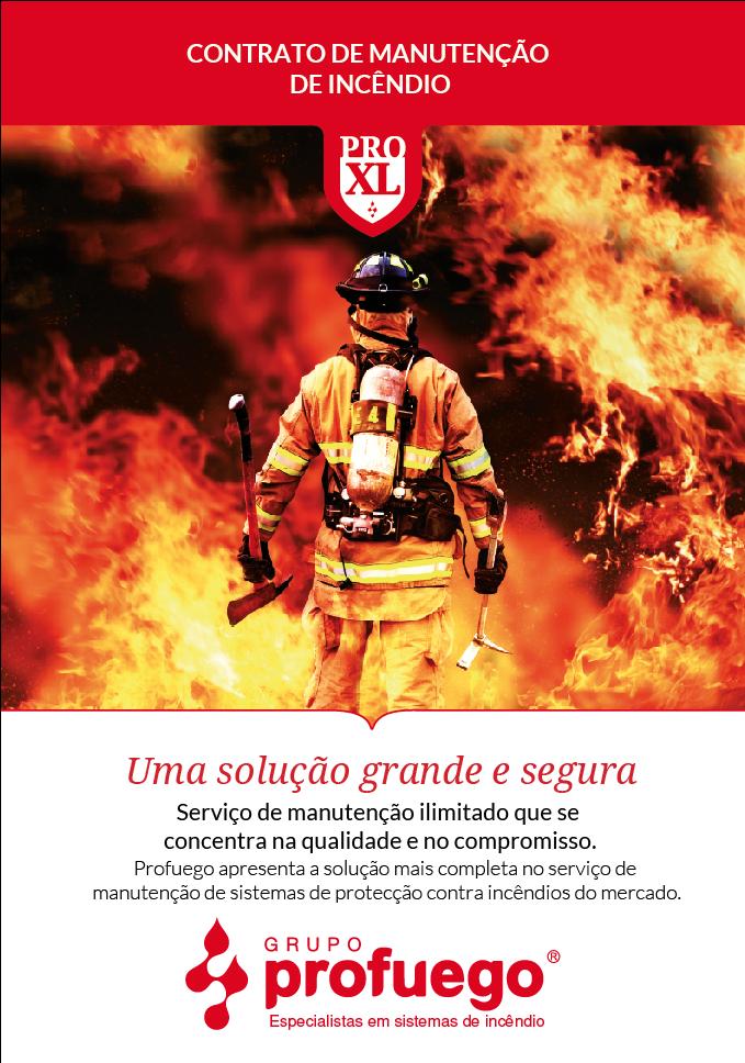Manutenção de Incêndio Pro-XL